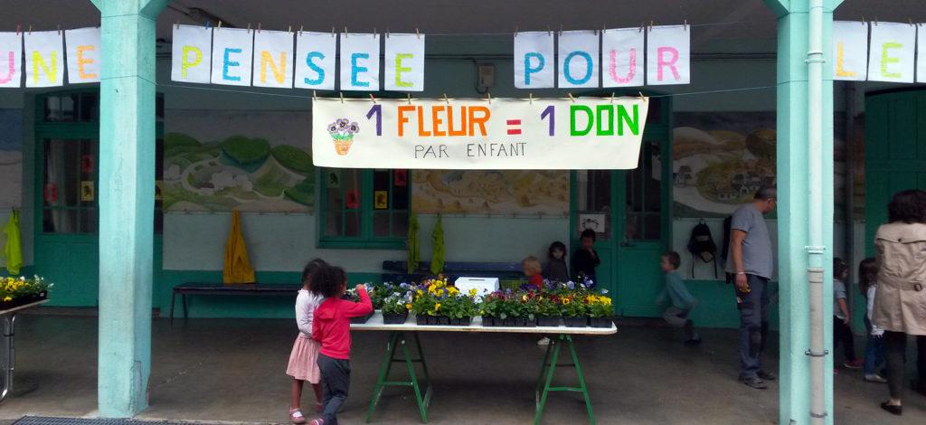 Action Une pensée pour les Antilles