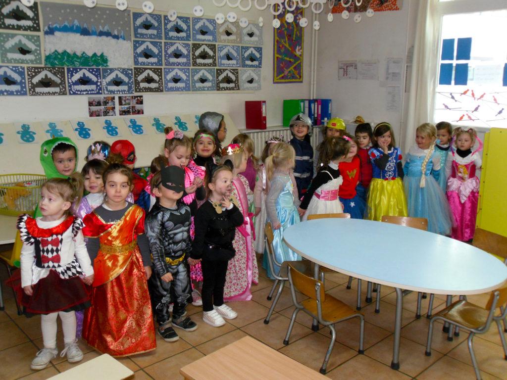 Carnaval en petite section de maternelle