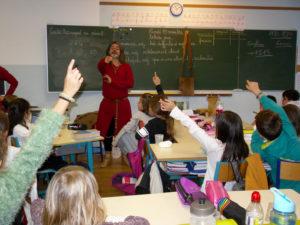 Visite Chevalier de Carcassonne en CM1