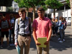 Deux réussites Grégory CAPARROS et Nicolas MICHAUD