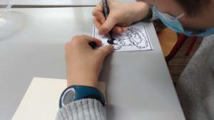 Atelier de création cartes de voeux 6