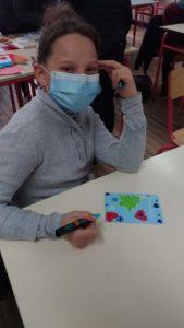 Atelier de création cartes de voeux 1